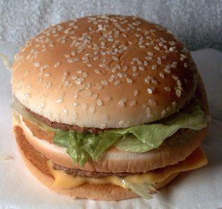 Mcdonalds hamburger ingredients
