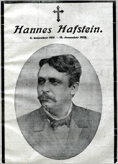 Andlát Hannesar Mbl.38tbl.14.12.1922
