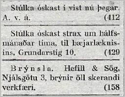 Vísir75tbl.1505_1923_stulka_oskast