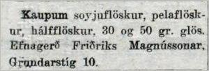 Mbl.274tbl.24.11.1933_Efnagerd-Fridriks-augl