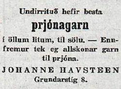 Johanne Havsteen