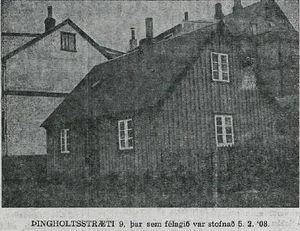Þingholtsstræti 9, Alþýðublaðið 5. febrúar 1938