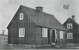 Þingholtsstræti 9 í Árbæjarsafni. Tíminn 2. ágúst 1973. Tímamynd G.E.