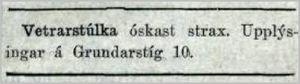 Mbl.286tbl._1010_1923Vetrarstulka_oskast