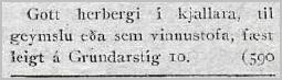 Visir 234.tbl._2211_1923_Herb_til_leigu