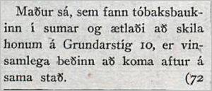 Vísir331tbl04.12.1929_Tóbaksbaukur-madur