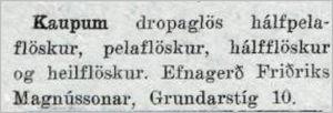 Mbl.215tbl.16.09.1933_Efnagerd-augl
