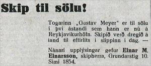 Althydubl.196tbl.17.08.1933_Skip-sala-skipherra
