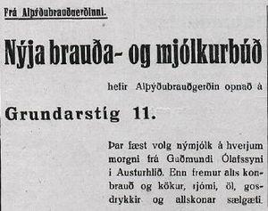Alþýðubrauðgerðin