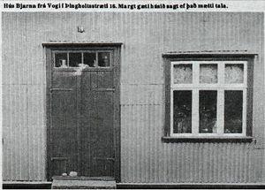 Þingholtsstræti 16 úr blaðagrein árið 1978
