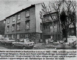 Farsóttarhúsið 1988