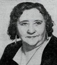 María Maack 70 ára