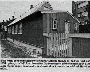 Þingholtsstræti 13, Á göngu með Guðjóni 1978