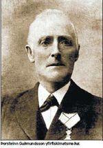 Þorsteinn Guðmundsson yfirfiskimatsmaður