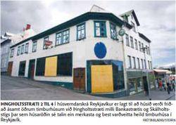 Þingholtsstræti 2, Fréttablaðið 7.6. 2008, Ljósm. Stefán