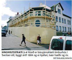 Þingholtsstræti 2, Fréttablaðið 12.08. 2008, Ljósm. Arnþór