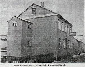 Þingholtsstræti 18, heimili Bríetar Bjarnhéðinsdóttur, Alþýðubl. 1. des. 1964