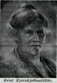 Bríet Bjarnhéðinsdóttir. Sunnudagur, 27. september 1931 , Blaðsíða 10