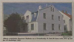 Mbl.Lesbok39tbl.15.10.1988_HannesHafstein og hus skaldsins grein GFr-mynd