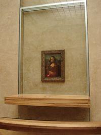 Mona Lisa í Louvre safninu í París