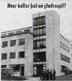 Þingholtsstræti 27,  Þjóðviljinn 20. sept. 1953