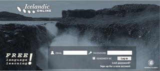Learn-icelandic-oneline