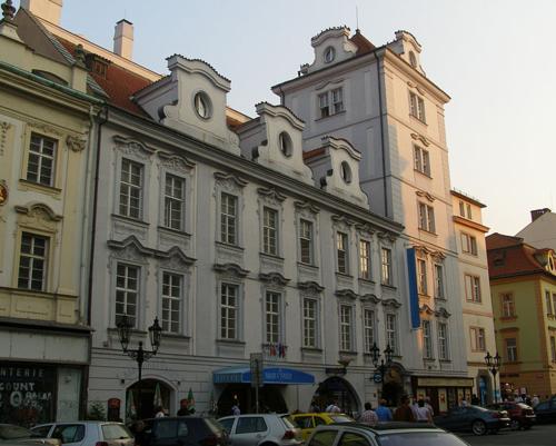U Modré růže - veitingahús í Prag