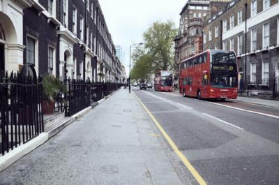 Bloomsbury hverfið í London