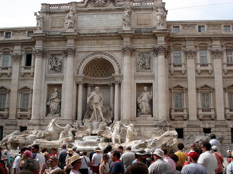 Róm - Fontana di Trevi