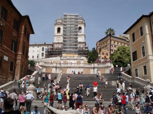 Róm, Piazza di Spagna
