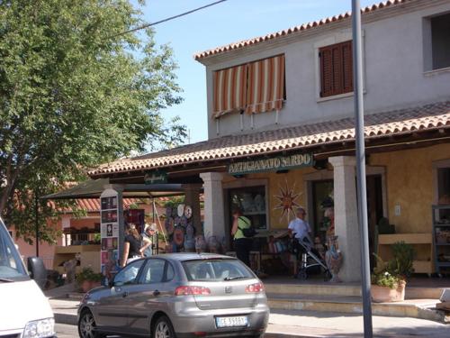 Á bílaleigubíl á Sardiníu