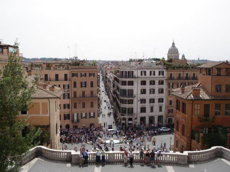 Piazza di Spagna - Spænsku tröppurnar