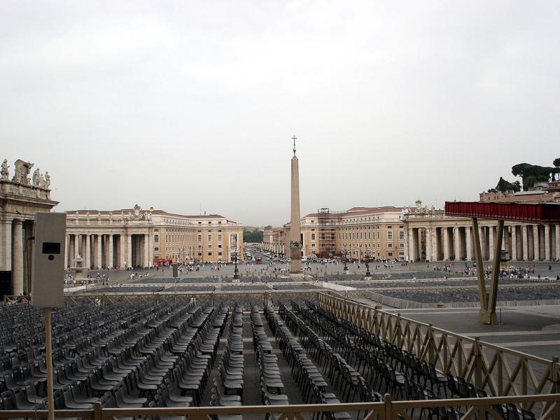 Róm Piazza San Pietro