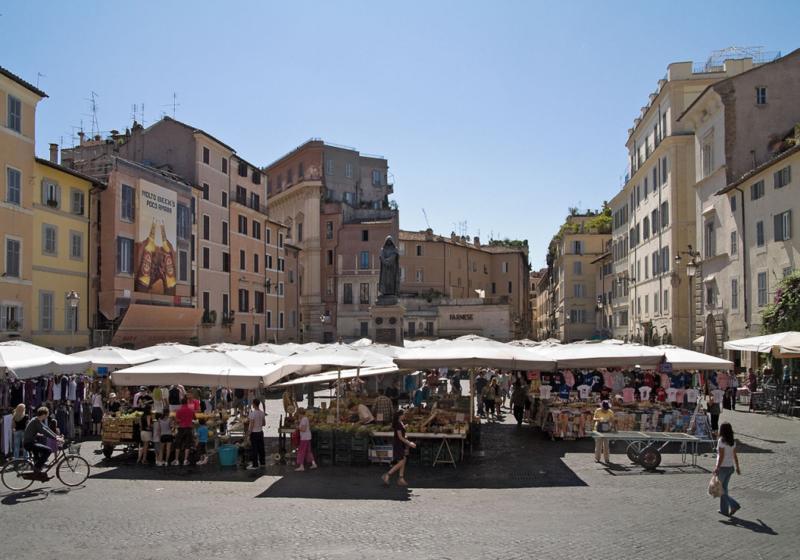 Róm Campo de' fiori